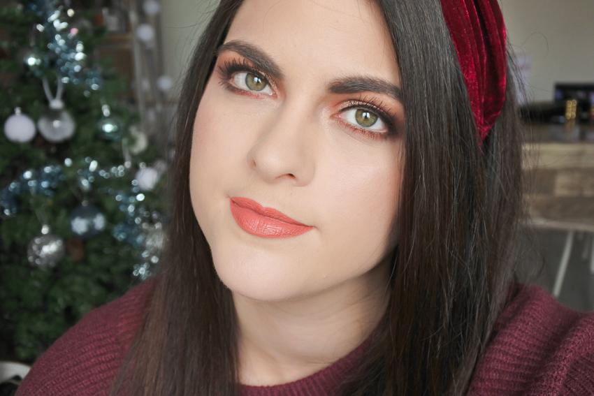 Tutoriel • Maquillage Doré et bordeaux avec la palette Fetish