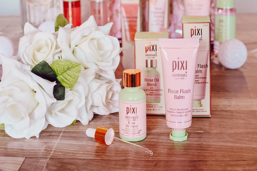 soins à la rose Pixi Beauty