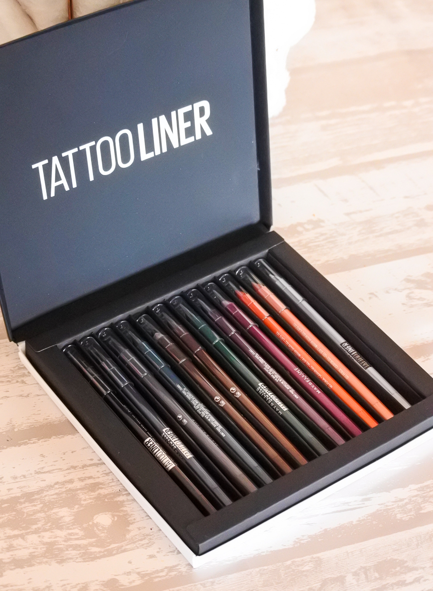 Les crayons gel Tattoo Liner Maybelline