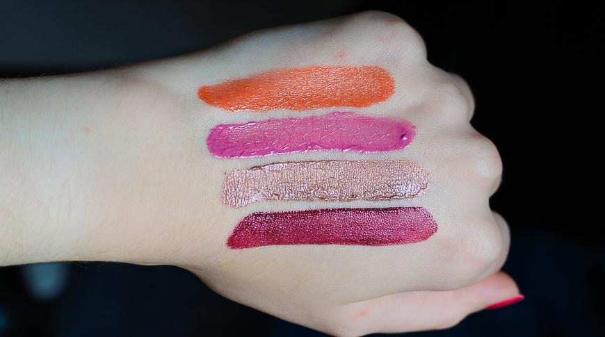 swatchs lipstick Revlon