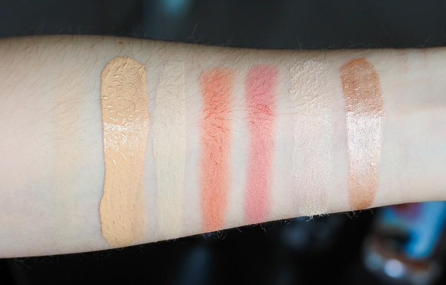 swatch's makeup