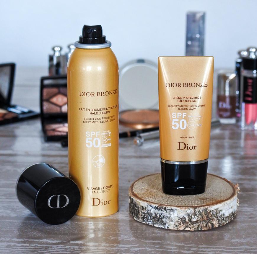 Dior Bronze : protections visage et corps