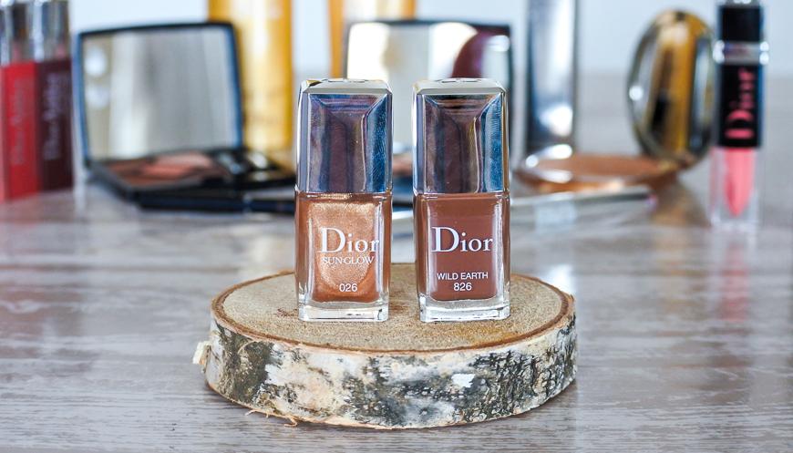 vernis à ongles en édition limitée Wild Earth Dior