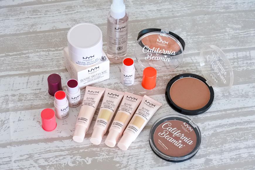 La collection d'été Bare With Me NYX Cosmetics