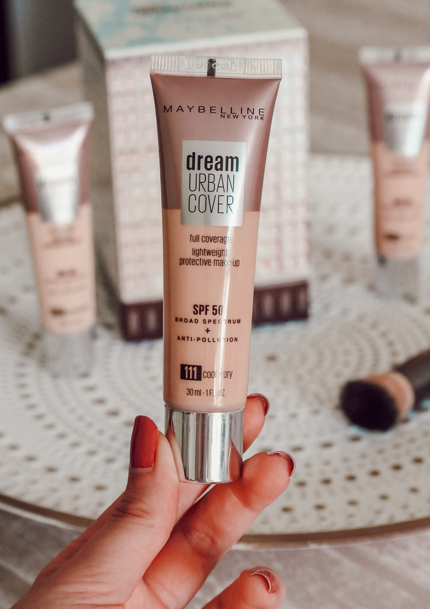 Le nouveau fond de teint Dream Urban Cover Maybelline
