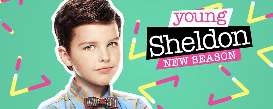série young Sheldon