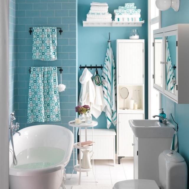 peindre carrelage salle de bai