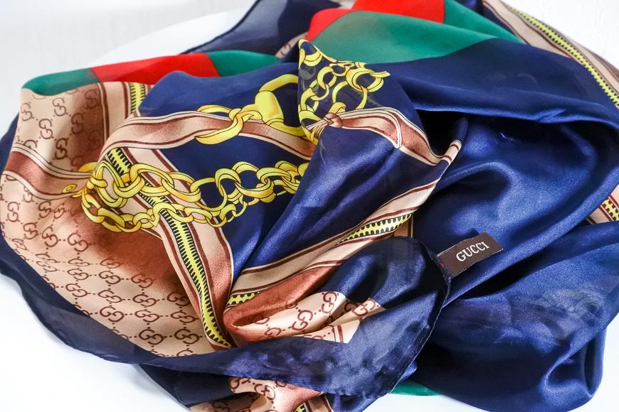 foulard Gucci en soie