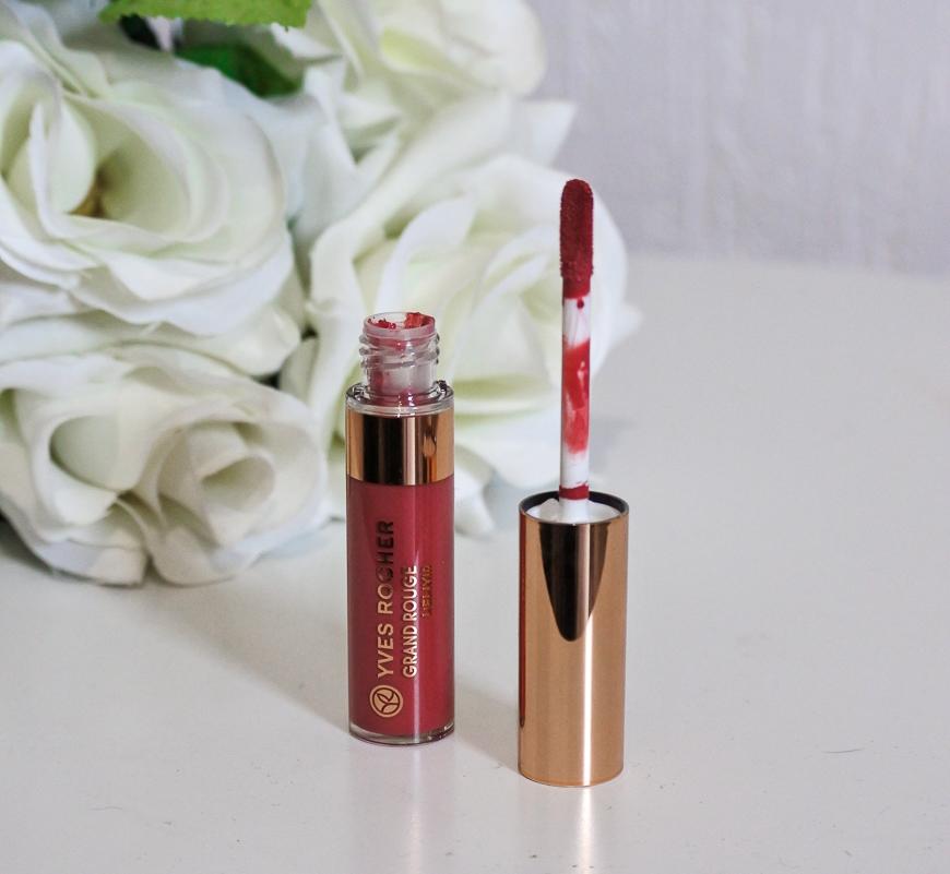 rouge à lèvres liquide d'Yves Rocher