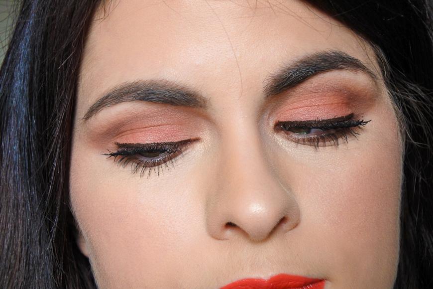 maquillage corail