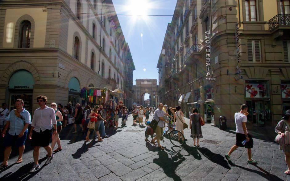 Virée shopping à Florence