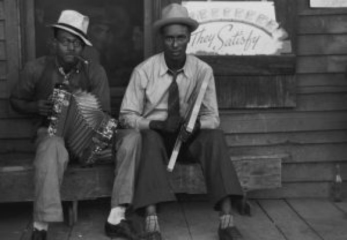 Zydeco players Louisiana_1938
