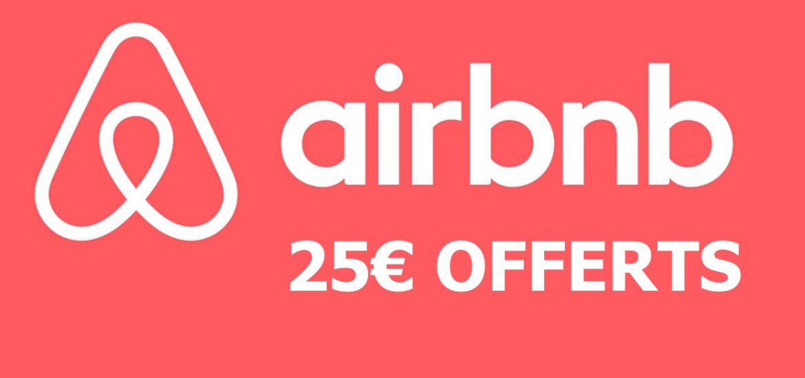 Code promo Airbnb - 25 euros offerts
