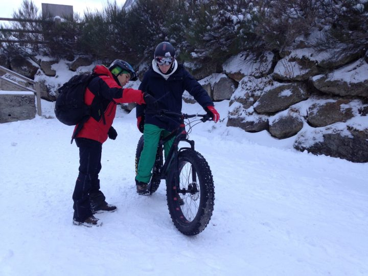 Ax 3 Domaines - Fatbike