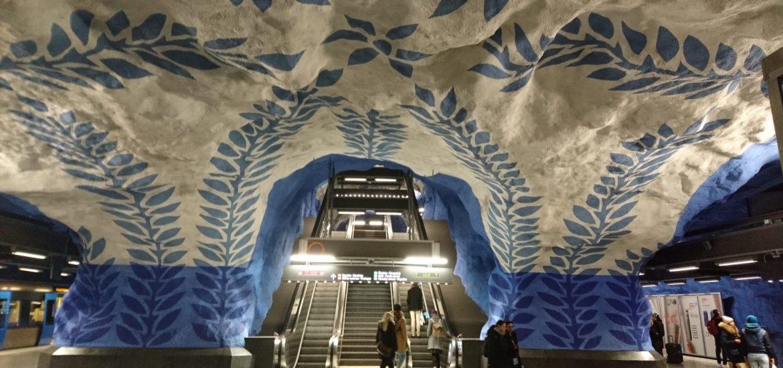 Visite métro Stockholm