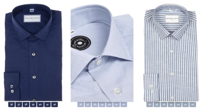 Première Manche - chemise France
