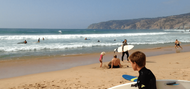 Guincho Beach Lisbonne