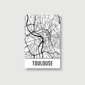 map de toulouse
