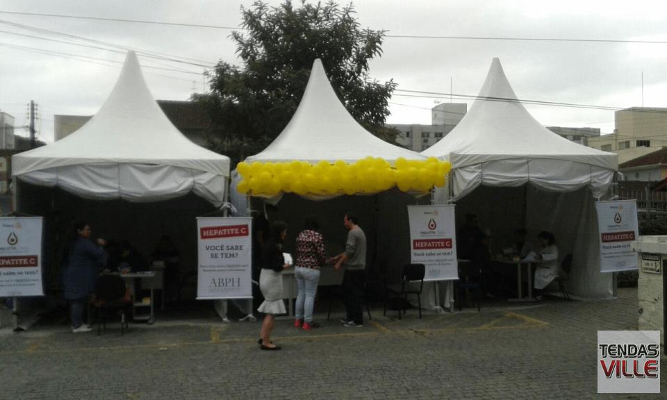cf9856cd19433 Campanha Mundial Hepatite Zero   Tenda 3×3   Tendas Ville