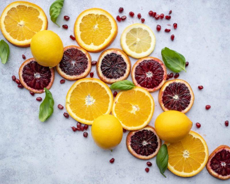 Mejores frutas para desayunar citricos