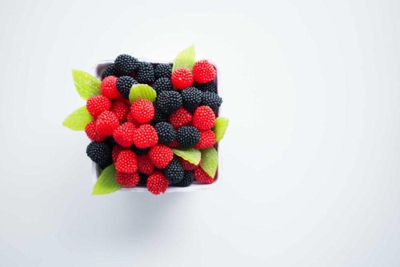 Mejores frutas para desayunar frambuesas