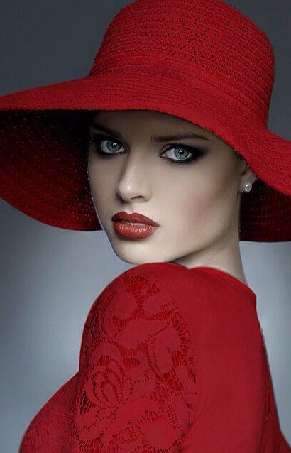 look en rojo