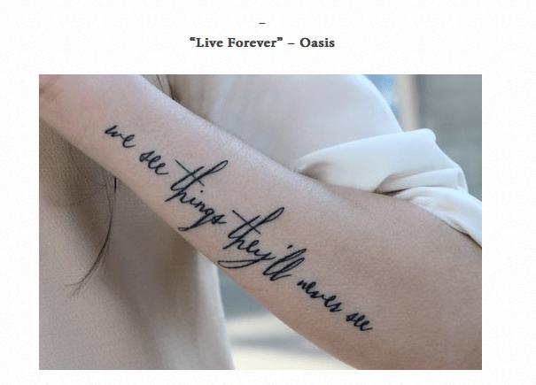 10 frases que molan para tatuarse