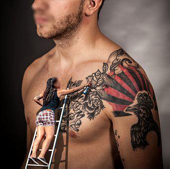 Tatuajes, zona del cuerpo donde te dolería menos 0