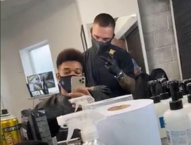 Joelinton was called an idiot for posting a picture after getting his haircut during lockdown