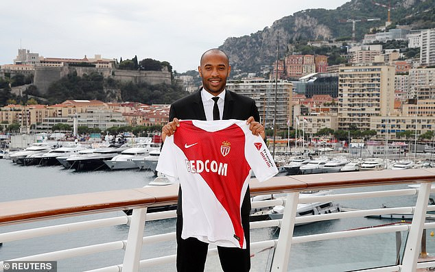 In October 2018, Henry took his first role as a manager when he became boss of Monaco