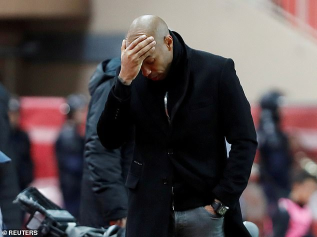 Henry only lasted three months at his former club and he sacked after an awful run of results