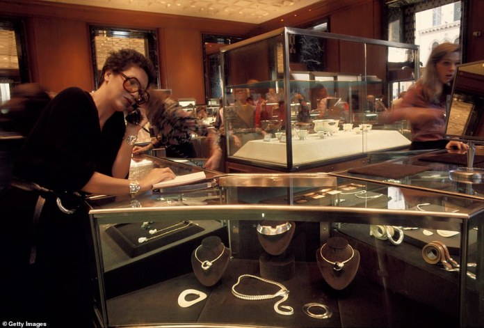Her Tiffany designs, from about 2009, came to account for about 10 percent of all the company's sales