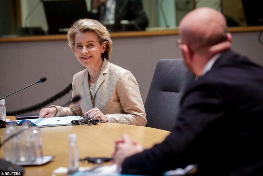 President of the EU Commission, Ursula von der Leyen, has been leading calls for Europe to stop shipping Covid vaccines to other countries before it can provide for its own citizens