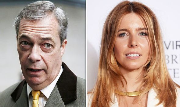 STACEY DOOLEY BREXIT NIGEL FARAGE SOPORTE DE TV BBC
