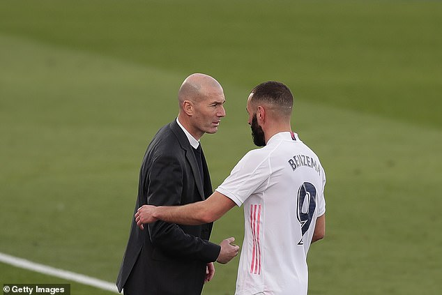 Zinedine Zidane's Real Madrid side have been far from their best but are still in contention
