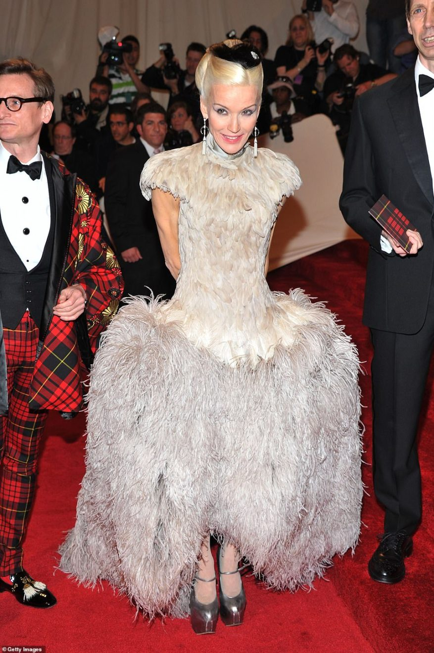 Most recently, she's tried her hand at singing, having been offered - but declined - a place at the Guildhall School of Music as a teenager (pictured, at the Met Gala in 2011)