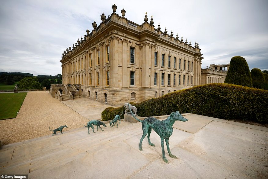 The pair continue the family's legacy of looking after their home Chatsworth House in Derbyshire