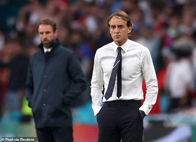 Roberto Mancini is in supreme shape and would be a gym-obsessed roommate on holiday