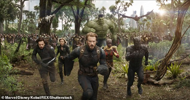 In character:Sebastian became a household after first starring as Bucky Barnes in the 2011 Marvel film Captain America: The First Avenger. He returned as Bucky, who becomes known as Winter Soldier, for a number of films in the Marvel Universe, including all of the Avengers films; Sebastian seen on the left alongside Scarlett Johansson, Chris Evans Mark Ruffalo, Danai Gurira, Anthony Mackie and the late Chadwick Boseman in the film Marvel's Avengers: Infinity War, released in 2018