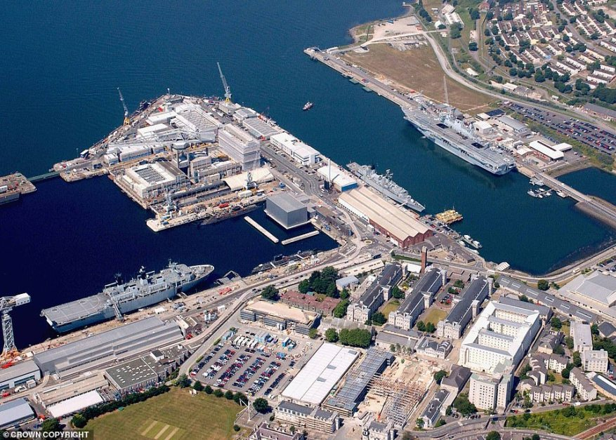 The first and preferred option would reportedly be to relocate the submarines to the Royal Navy base at Devonport in Plymouth