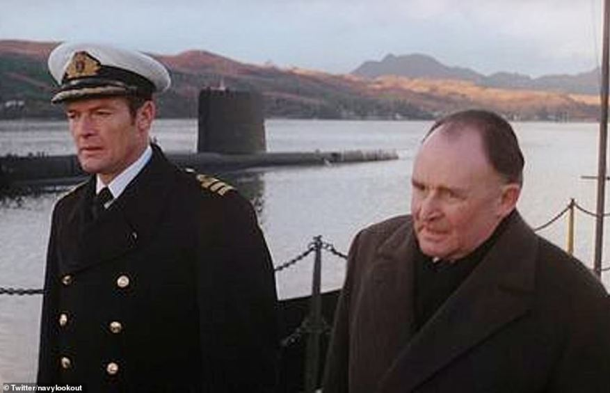 In James Bond film The Spy Who Loved Me, the secret agent - then played by Roger Moore - was briefed about submarines at Faslane