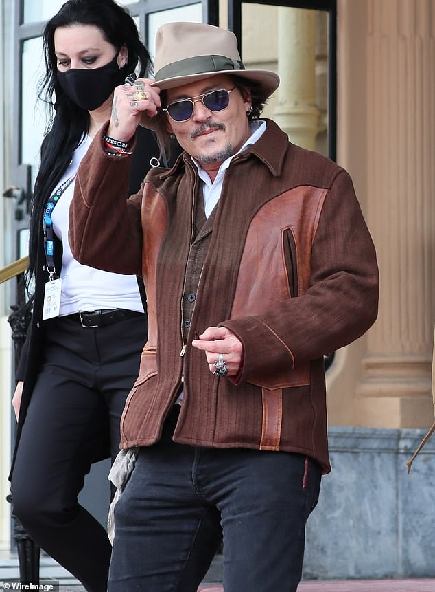 Johnny's in town:Depp is in Spain for the 69th San Sebastián Film Festival, where he was the recipient of the Donostia Award on Wednesday evening