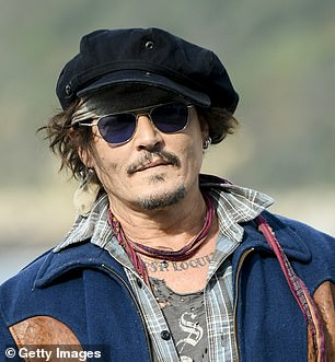 Depp later added that he was 'worried' that his presence at the festival would 'offend people'