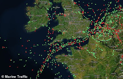 Experts have said Britain's ports are exceptionally busy but a lack of staff and HGV drivers is causing delays