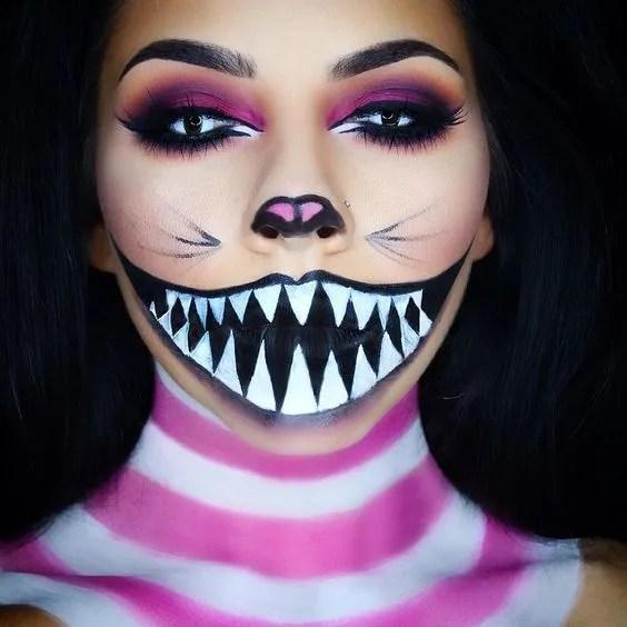 maquillaje para halloween fácil barato diy disfraz