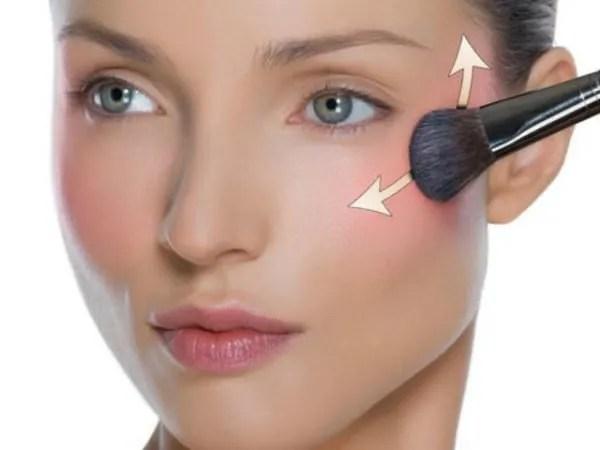 Resultado de imagen de maquillaje colorete