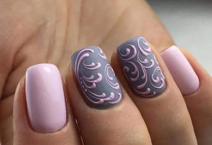 De 100 Fotos De Uñas De Gel Decoradas 2019