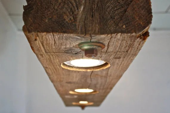 Reclaimed Pendant Lighting