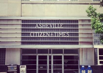 Newspaper Series – Asheville Citizen Times