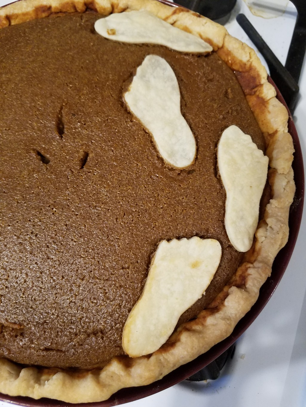 Tenderfoot Pumpkin Pie